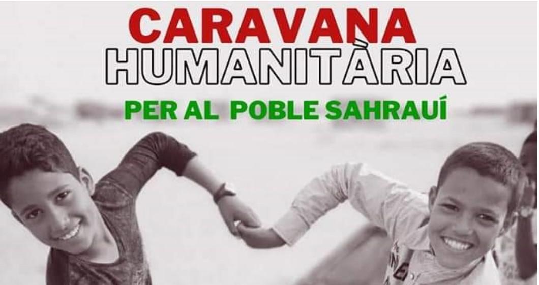 Recollida d'ajuda al poble saharaui