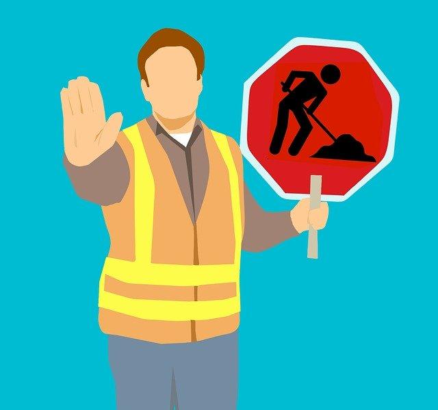 Desviament per obres en la carretera de la Maquiva-Racons