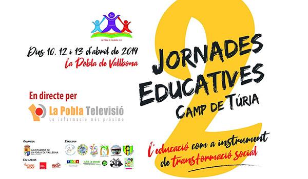 2 JORNADES EDUCATIVES DE LA POBLA DE VALLBONA.