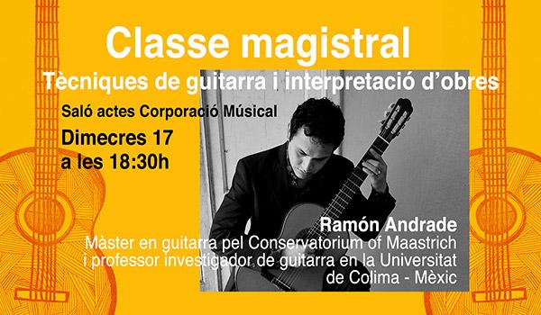 Classe Magistral de Guitarra
