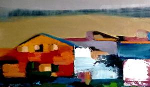 Inauguració exposició «paisajes con voz propia» de Raquel Ros López