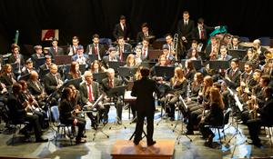 Concert a càrrec de la Corporació Musical de la Pobla de Vallbona