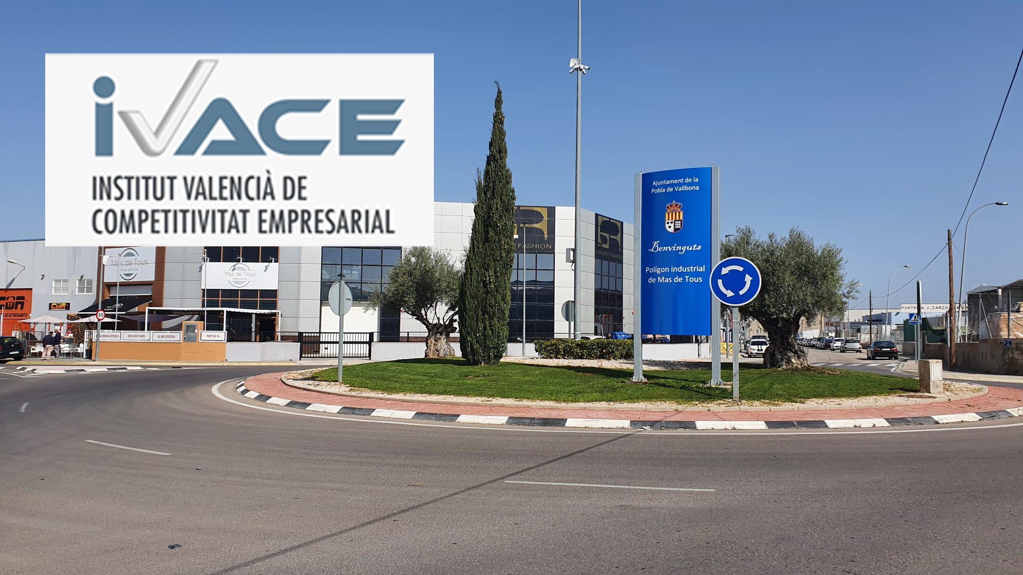 Els Polígons industrials de la Pobla de Vallbona reben una injecció de 535.000 euros per millorar la competitivitat
