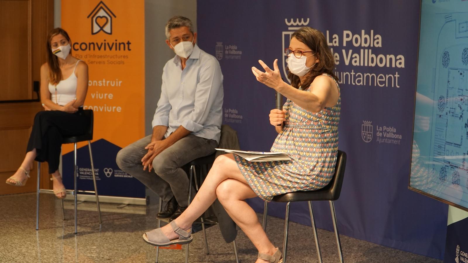 L'Ajuntament i la vicepresidenta Oltra presenten el nou Centre de Dia de la Pobla de Vallbona