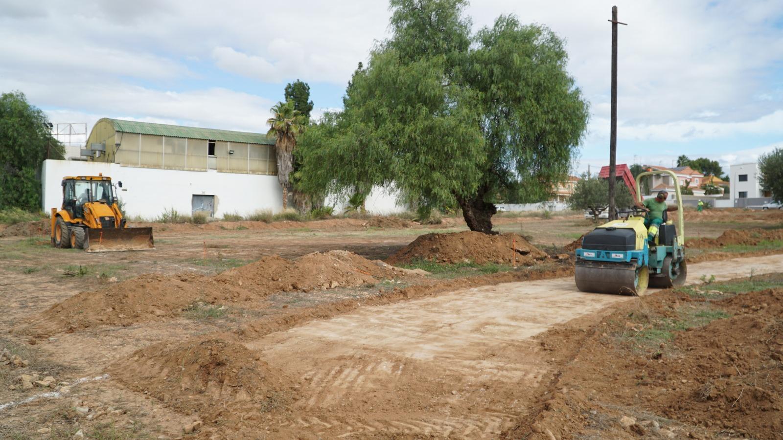 Comença a prendre forma el Parc caní la Rascanya