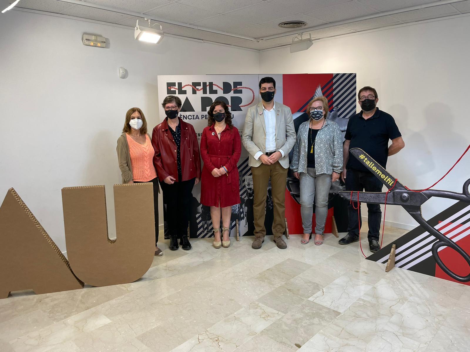 """La Pobla de Vallbona participa en la jornada central del projecte """"València per la Pau"""" del Fons Valencià per la Solidaritat"""